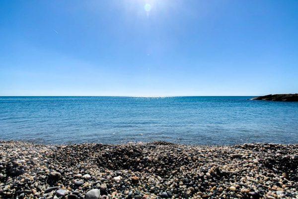 Spiaggia e mare di Pietra Ligure